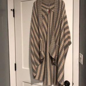 Element poncho sweater